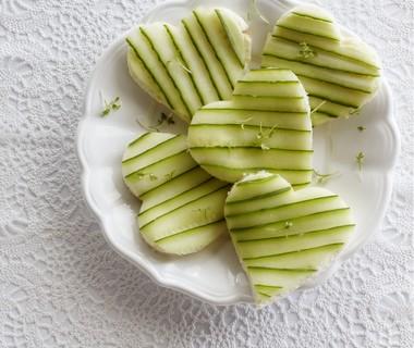 Komkommersandwich-harten