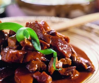 Babi pangang - gemarineerd varkensvlees