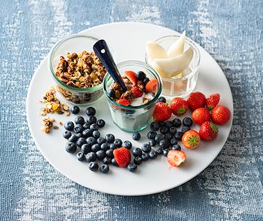 Yoghurtbar met huisgemaakte granola