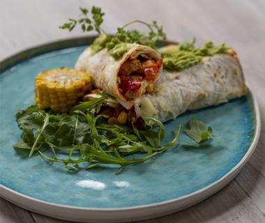 Burrito's con carne met minder zout