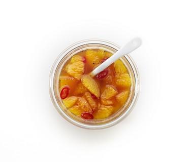 Pittige sinaasappelchutney