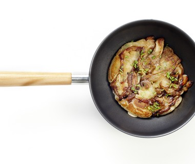 Pannenkoekjes met paddenstoelen