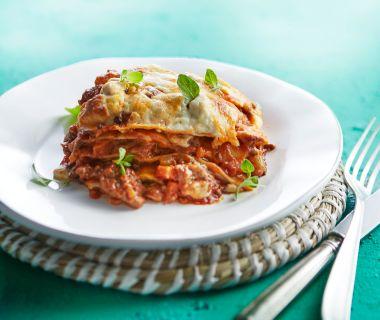 Lasagne al forno met worstvlees