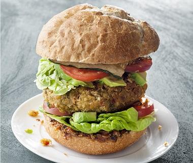 Gigantische groenteburger