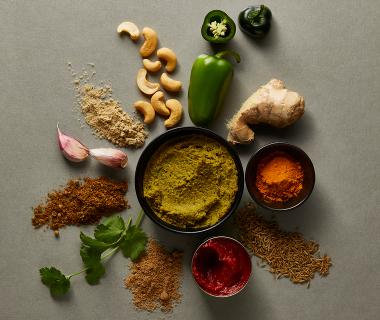 Indiase korma currypasta