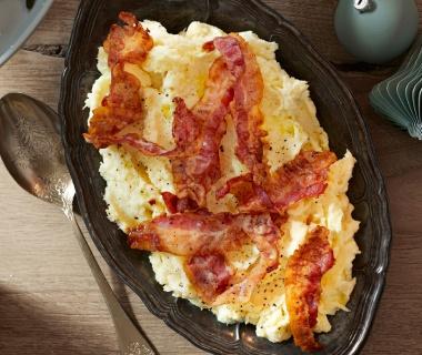 Pastinaakpuree met bacon