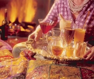 Ouderwetse warme chocolademelk met rum