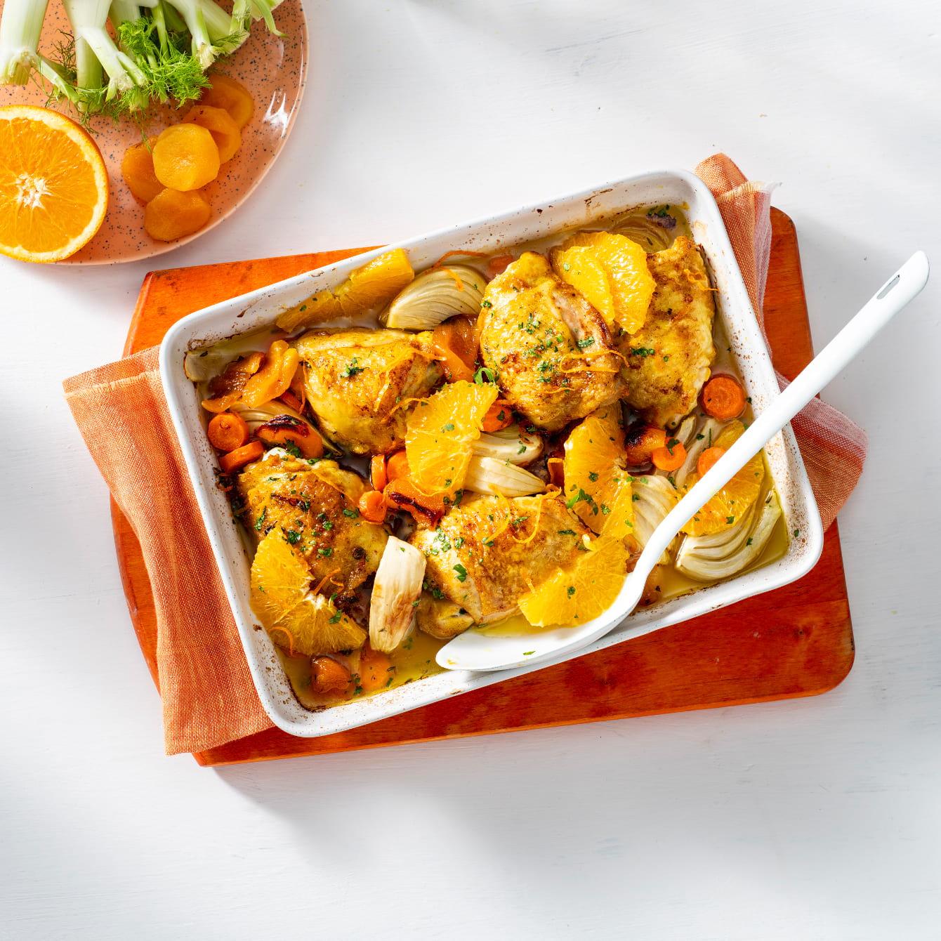 Italiaanse kipschotel uit de oven