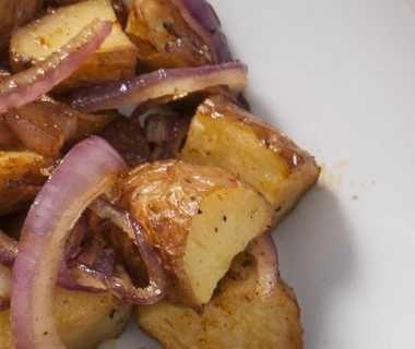 Kruidige aardappelpartjes