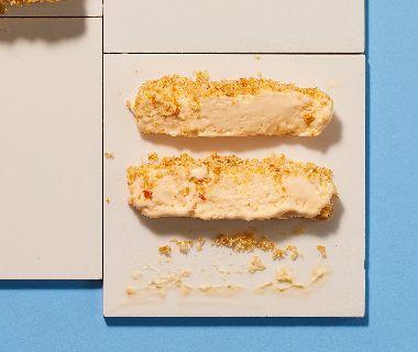 Roomparfait met hazelnoot-praliné