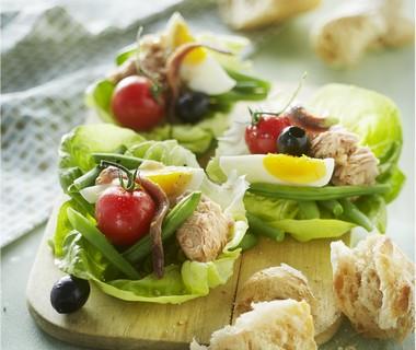 Salade Niçoise-hapjes