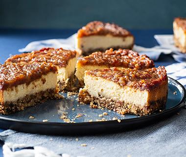 Cheesecake met dadels
