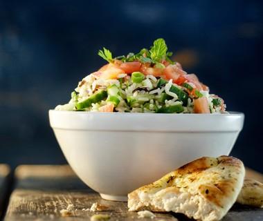 Libanese rijstsalade
