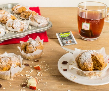 Appel-rozijn-havermoutmuffins
