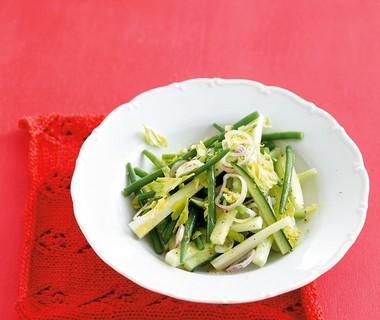 Heldergroene salade
