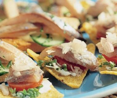 Tortilla-haringhapjes