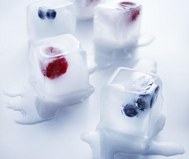 Gevulde ijsblokjes