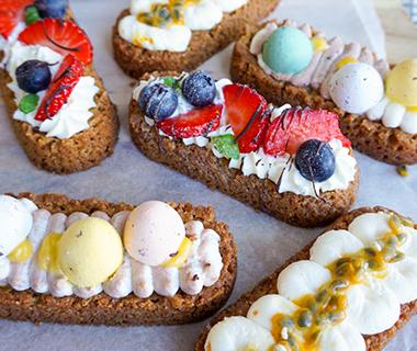 Glutenvrije kleine paasslofjes van Ik Eet Vrij