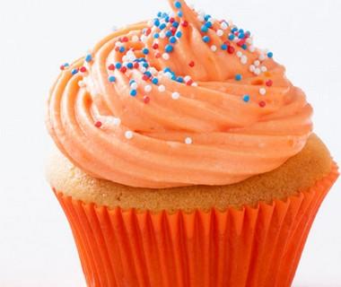 Oranje boven-cupcake van Marieke Drees