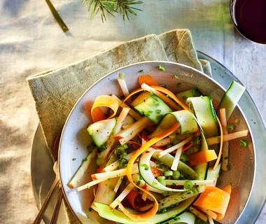 Frisse groentelintensalade