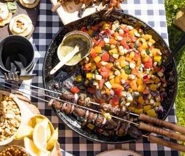 Gegrilde mediterrane groenten
