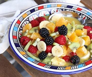 Verfrissende Fruitsalade