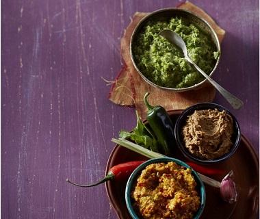 Zelfgemaakte milde currypasta