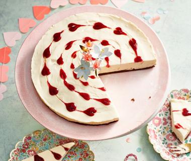 Hartjes-cheesecake