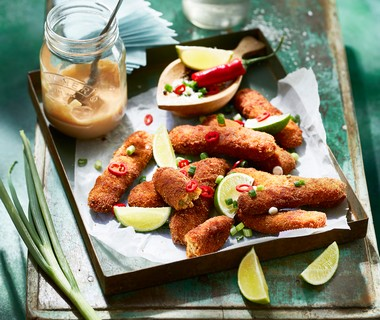 Tropische fish fingers