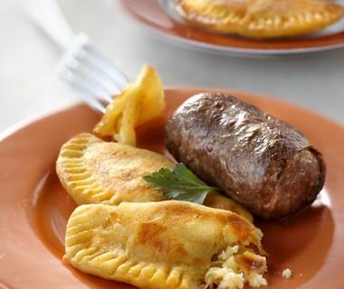 Rundervinken met aardappelbeignets