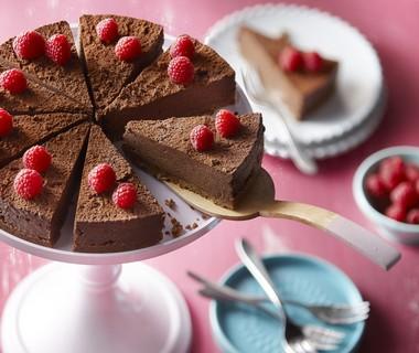 Chocolade-truffeltaart