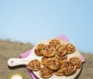 Pizza Hawaï-hapjes