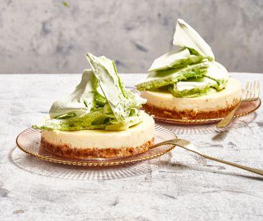 Meringata-taartje met limoncello-panna cotta