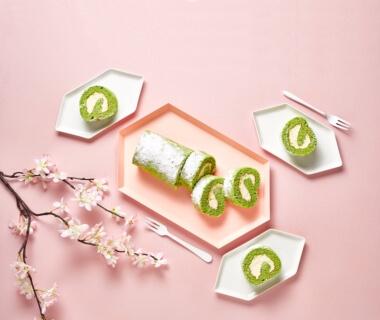 Japanse rolcake